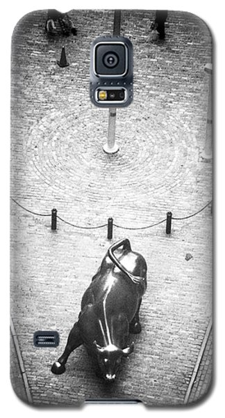 A Bull On Wall Street 1990s Galaxy S5 Case