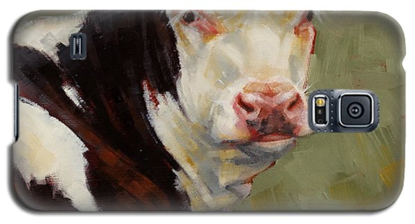 A Calf Named Ivory Galaxy S5 Case by Margaret Stockdale
