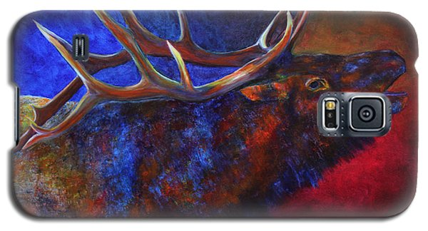 Galaxy S5 Case featuring the painting A Call In The Night by Jennifer Godshalk