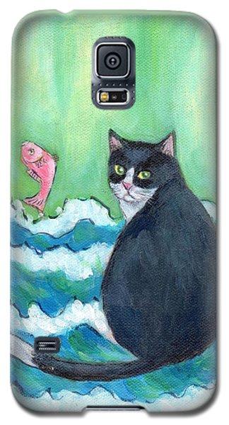A Cat's Dream Interior Design Galaxy S5 Case by Jingfen Hwu