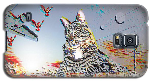 A Cat's World Galaxy S5 Case