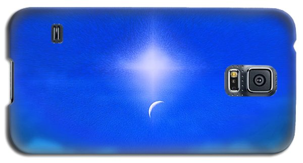 Galaxy S5 Case featuring the photograph Beautiful New Day In The Heavens by Kellice Swaggerty