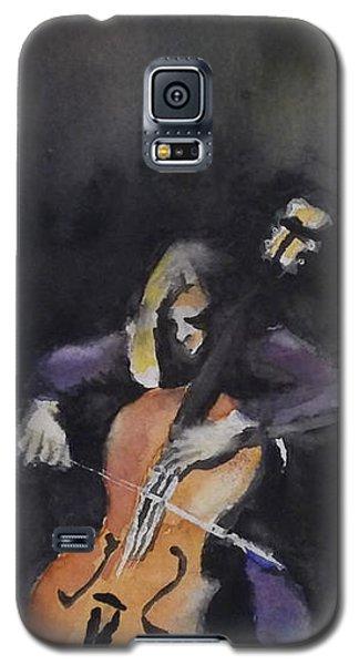 A Cellist Galaxy S5 Case by Yoshiko Mishina