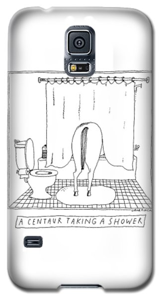 A Centaur Taking A Shower -- The Horse's Rear End Galaxy S5 Case