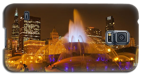 A Chicago Twilight Galaxy S5 Case