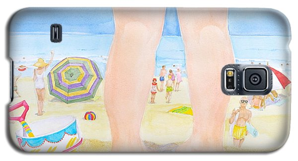 A Child Remembers The Beach Galaxy S5 Case