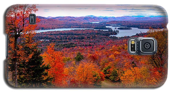 A Chilly Autumn Day On Mccauley Mountain Galaxy S5 Case