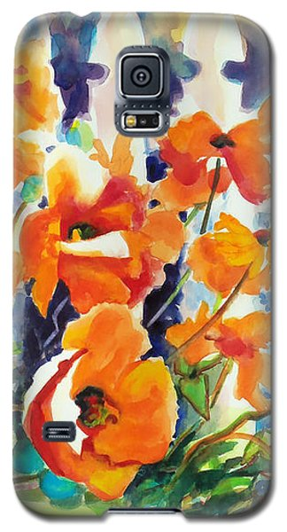 A Choir Of Poppies Galaxy S5 Case by Kathy Braud