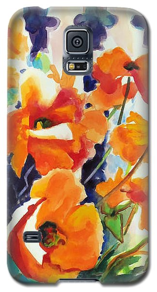 A Choir Of Poppies Galaxy S5 Case