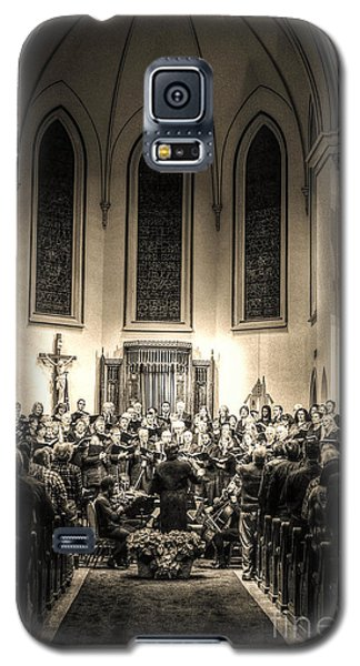 A Christmas Choir Galaxy S5 Case by Maddalena McDonald