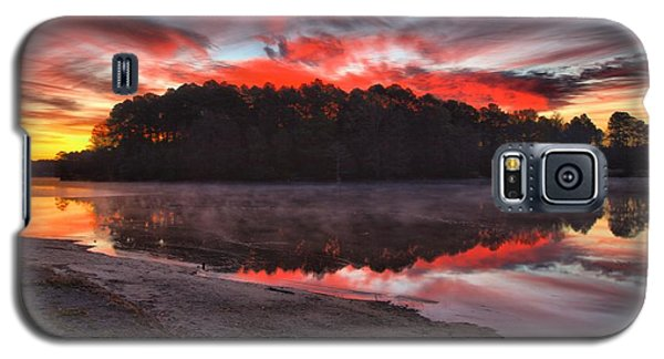 A Christmas Eve Sunrise Galaxy S5 Case