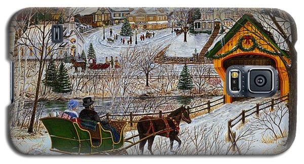 A Christmas Sleigh Ride Galaxy S5 Case
