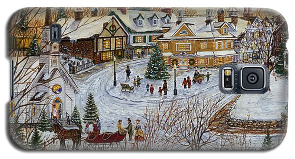 A Christmas Village Galaxy S5 Case by Doug Kreuger