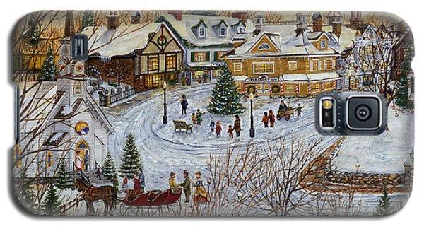 A Christmas Village Galaxy S5 Case