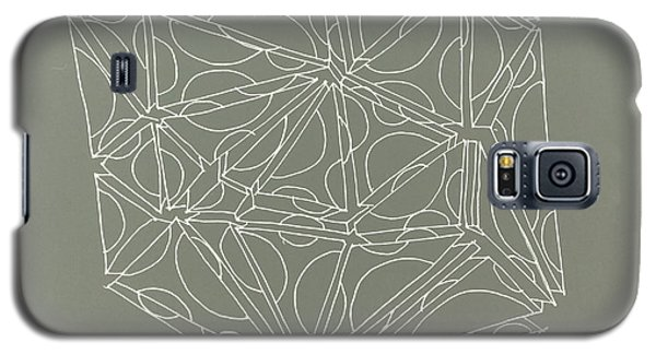 Galaxy S5 Case featuring the drawing A Closed Case by Nancy Kane Chapman