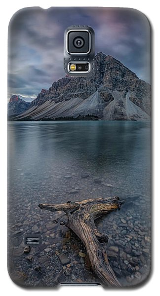 Branch Galaxy S5 Case - A Cloudy Day In Bow Lake by Michael Zheng