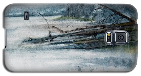 A Cold And Foggy View Galaxy S5 Case