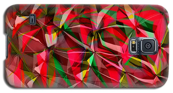 Colorful Shapes Blend Galaxy S5 Case