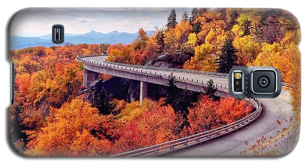 A Colorful Ride Along The Blue Ridge Parkway Galaxy S5 Case