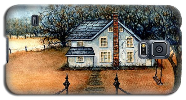 A Country Home Galaxy S5 Case by Janine Riley