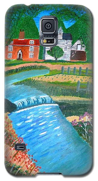 A Country Stream Galaxy S5 Case