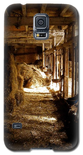 A Cozy Barn Galaxy S5 Case