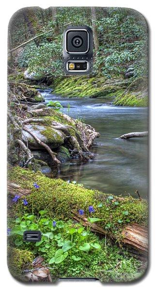 A Creek Side Hike Galaxy S5 Case