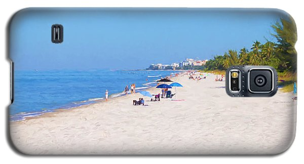 A Day At Naples Beach Galaxy S5 Case