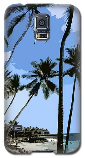 A Day At The Beach  Galaxy S5 Case by Karen Nicholson