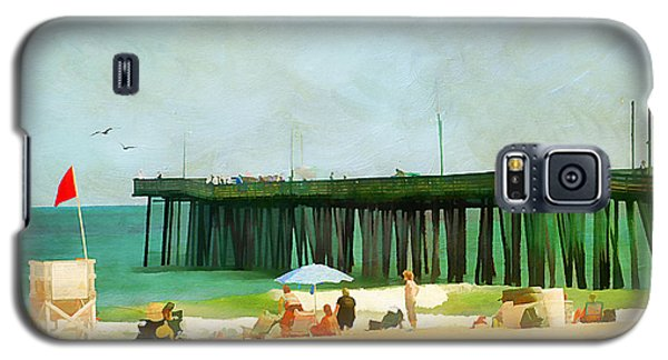 A Day At The Beach Galaxy S5 Case by Darren Fisher