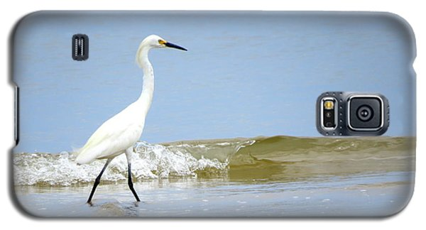 Galaxy S5 Case featuring the photograph A Day At The Beach by Phyllis Beiser