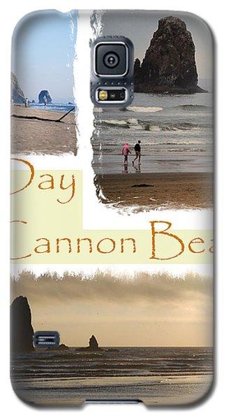 A Day On Cannon Beach Galaxy S5 Case by Sharon Elliott