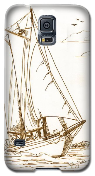A Day On The Bay Galaxy S5 Case by Nancy Patterson