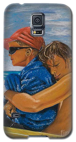 A Day On The Beach Galaxy S5 Case by Katharina Filus