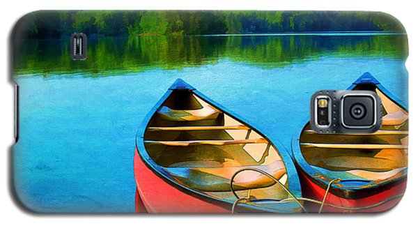A Day On The Lake Galaxy S5 Case by Darren Fisher