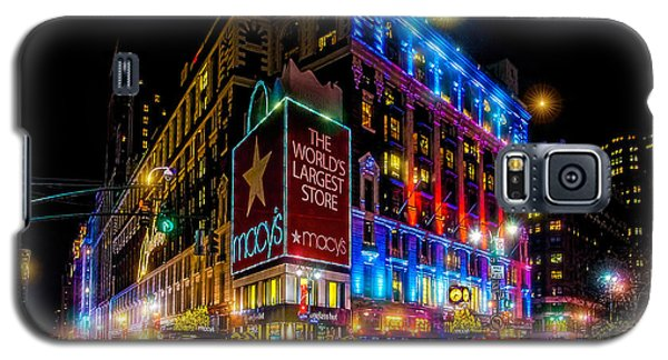 A December Evening At Macy's  Galaxy S5 Case