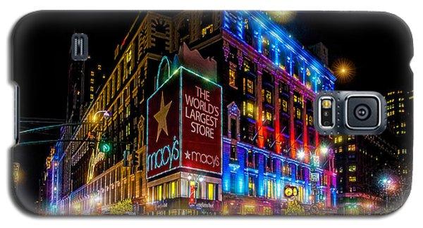 A December Evening At Macy's  Galaxy S5 Case