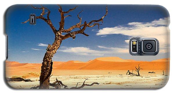 A Desert Story Galaxy S5 Case by Juergen Klust