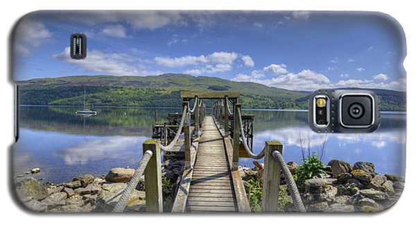 A Dock Out To Loch Tay Galaxy S5 Case