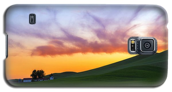 A Dragon's Sunset Galaxy S5 Case by Ryan Manuel