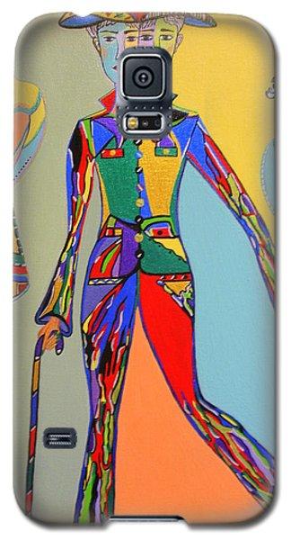 Men's Fantasy Galaxy S5 Case by Marie Schwarzer