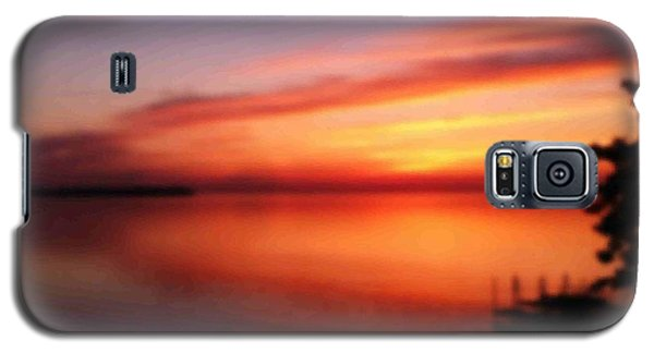A Dreamy Sunset On The Midwestern Riviera Galaxy S5 Case