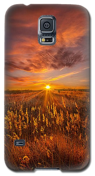 A Drifting Kiss Galaxy S5 Case