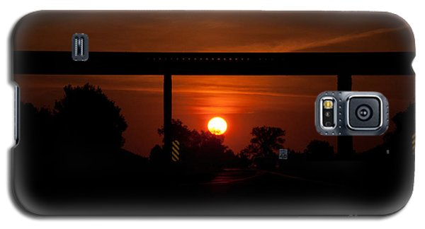 A Driver's View Galaxy S5 Case by Minnie Lippiatt