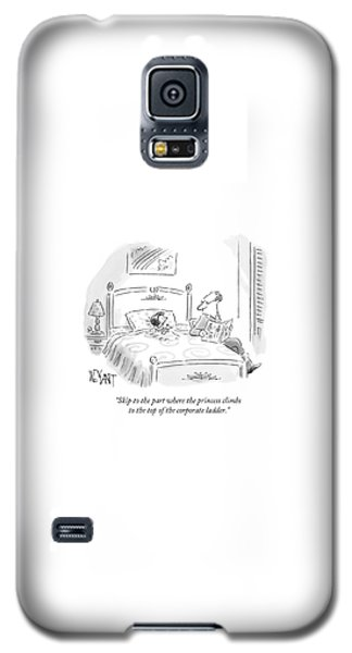 Fairy Galaxy S5 Case - A Father Reads His Daughter A Bedtime Story by Christopher Weyant