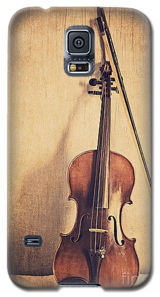 Violin Galaxy S5 Case - A Fiddle by Emily Kay