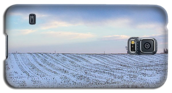 A Field In Iowa At Sunset Galaxy S5 Case