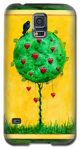 Galaxy S5 Case featuring the mixed media A Fine Thing Indeed by Terry Webb Harshman