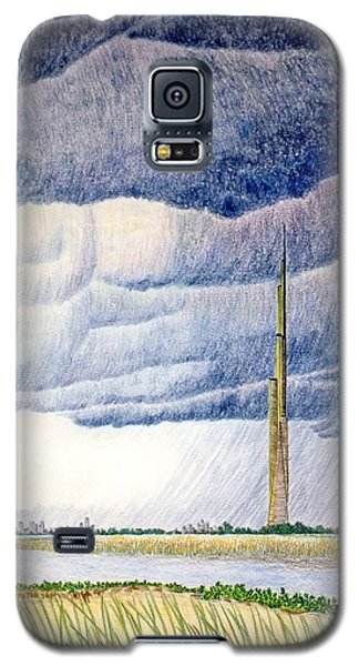 A Finger To The Sky Galaxy S5 Case