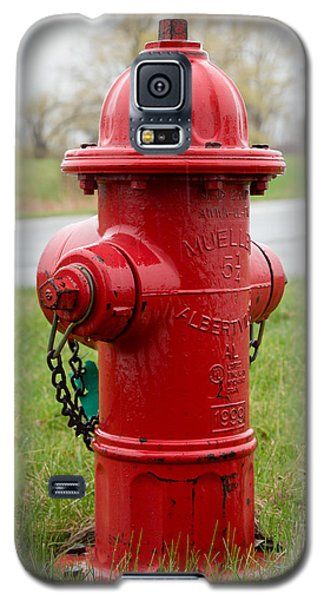 Galaxy S5 Case featuring the photograph A Fire Hydrant by Courtney Webster